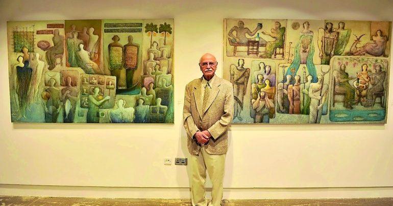 Al Markhiya Gallery hosts exhibition by famous Iraqi artist