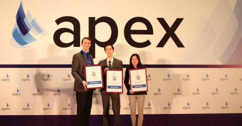 """Qatar Airways wins four awards at APEX <br/> """"القطرية"""" تحصد 4 جوائز خلال حفل """" أبيكس 2018"""""""