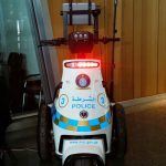 Security robot launched at Hamad Airport