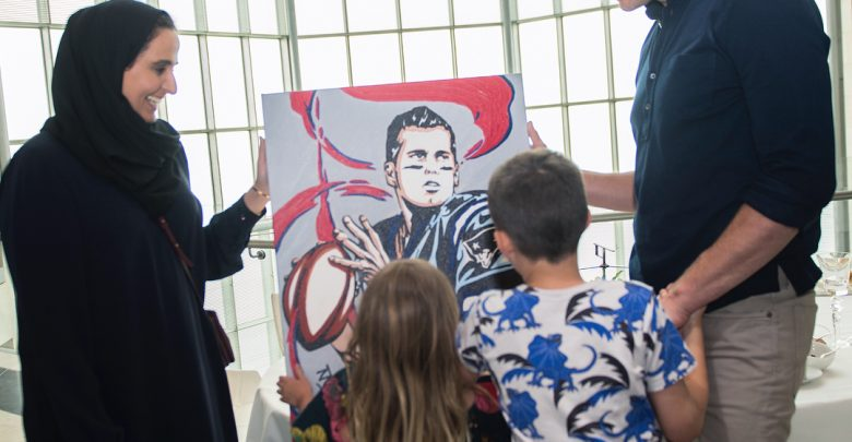 Tom Brady tours iconic Museum of Islamic Art