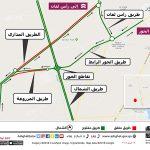 Temporary Road Diversion on Orbital Road North Area – Al Khor