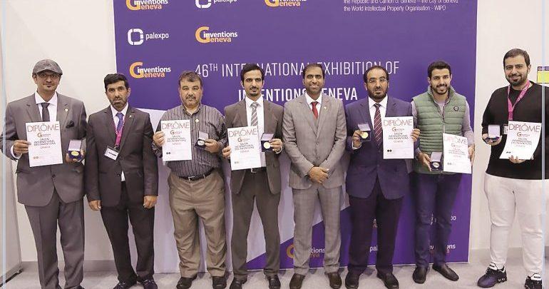Qatari innovators win six medals in Geneva