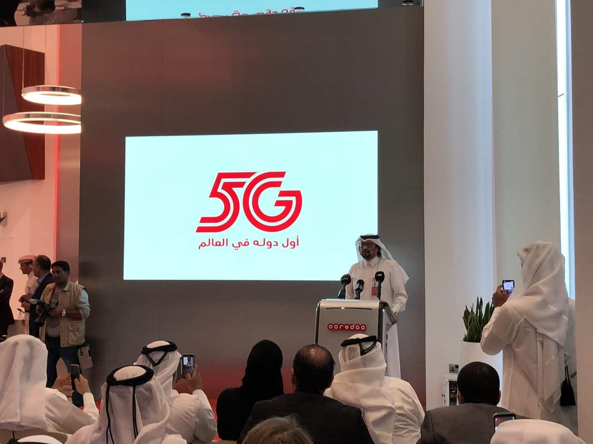 Ooredoo first in the world to launch 5G network