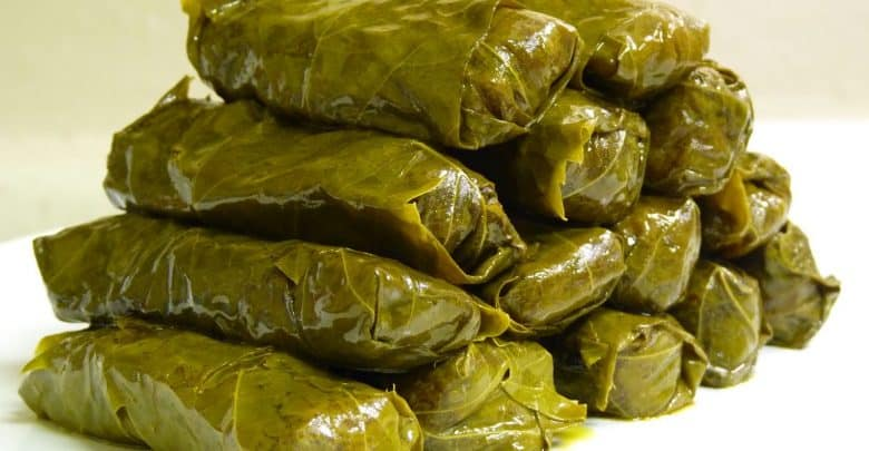 Warning against consumption of grape leaves products