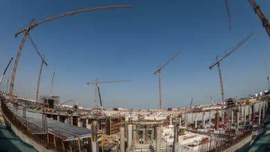 Al Rayyan Stadium roof structure installation begins