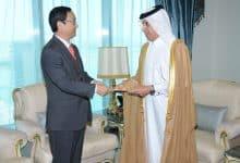 Al Muraikhi receives credentials of Ambassador of Republic of Korea