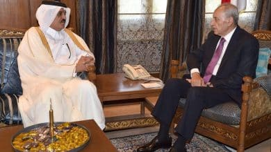 Qatar envoy greets Speaker of Lebanon