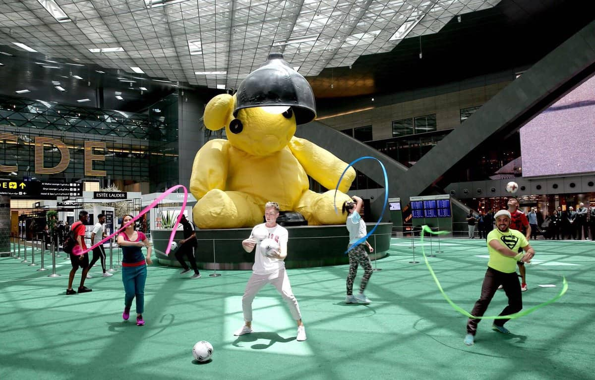 Hamad International Airport launches football Fan Zone