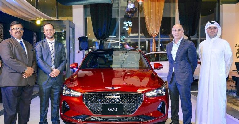 Genesis G70 luxury sedan arrives in Qatar