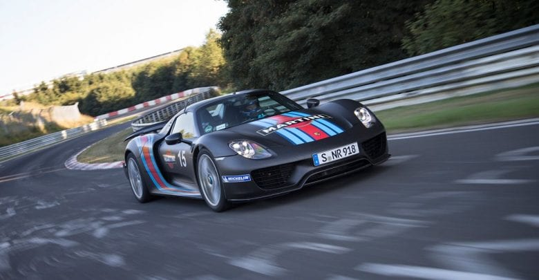 Porsche 918 Spyder model of 2015 recalled