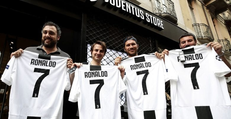 Cristiano Ronaldo says farewell to Real Madrid fans after Juventus transfer