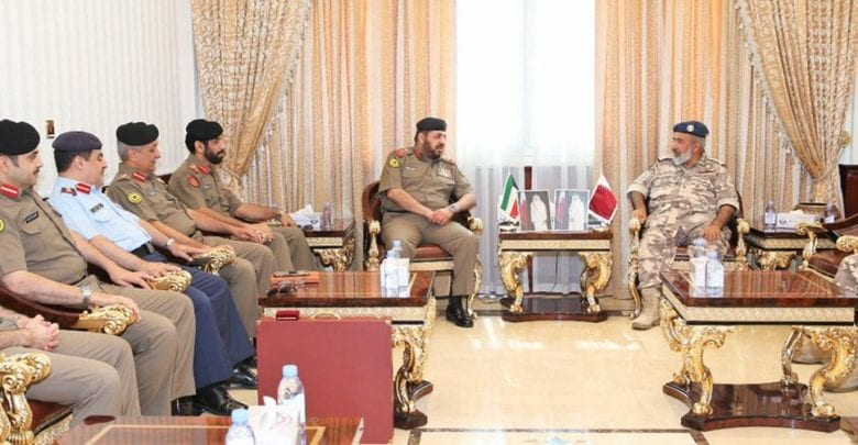 Chief of Staff holds talks with Kuwaiti delegation