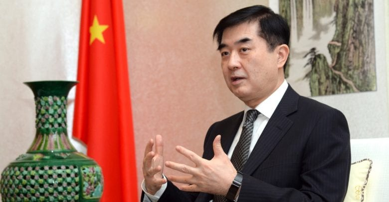 Chinese envoy hails agreement on visa waiver