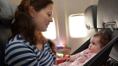 How to Fly with Baby