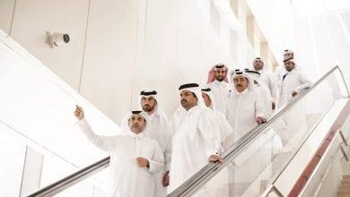 Deputy Amir assesses progress of Doha Metro project