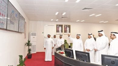 Deputy Amir commissions water reservoir project