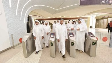 Advisory Council Speaker visits Doha Metro and mega strategic reservoirs project in Al Thumama