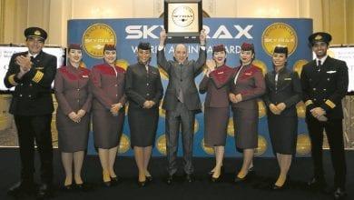 Qatar Airways wins four Skytrax awards