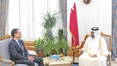 Deputy Amir honours French ambassador