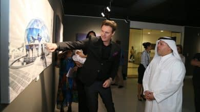 The Desert Rose exhibition features Qatar's nature and architecture