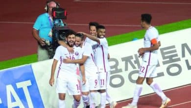 Qatar share spoils with Thailand in opener