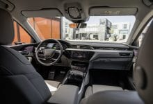 Audi unveils e-tron quattro electric SUV's interior