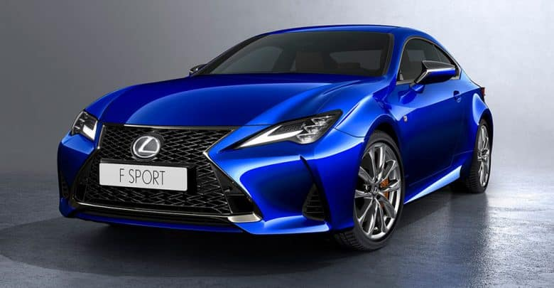 Lexus RC 2019 unveils itself before officially launching
