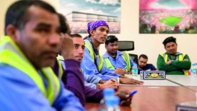 World Cup 2022 construction workers undergo health and safety training