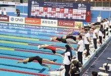 Sjostrom, Pieroni set new records in Doha