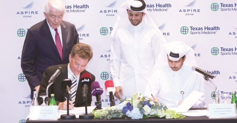 Aspetar, US group to establish joint sports medicine centre in Texas