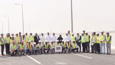 New interchange on F-Ring Road opened partially
