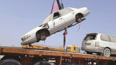 Ministry removes 440 abandoned vehicles and cabins in Al Shamal