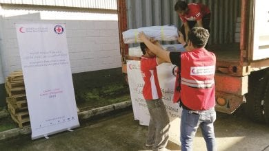 QRCS intensifies relief work for Philippine typhoon victims