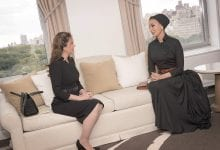 Sheikha Moza meets with First Lady of Paraguay