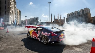 Red Bull Car Park Drift Regional Final weekend in Beirut