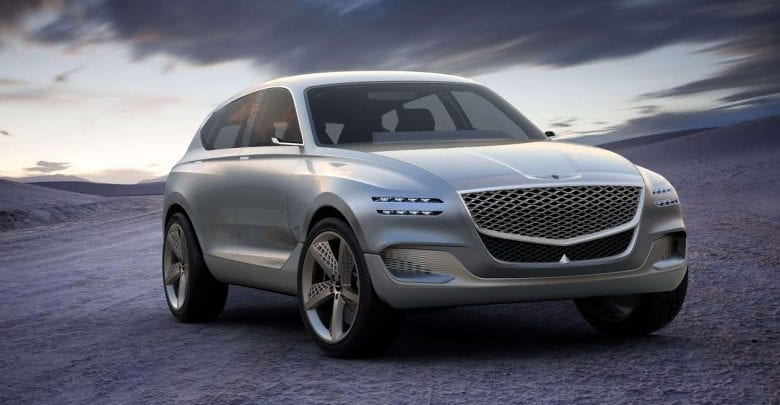 Skyline Automotive & Jaidah Group reveal the future of Genesis at the Qatar Motor Show 2018 with the first  Genesis SUV Concept GV80