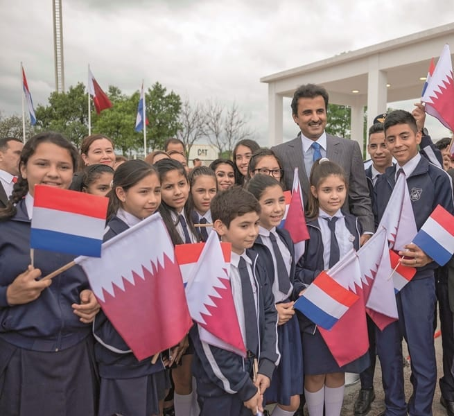 Qatar cements ties with Paraguay