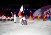 Team Qatar takes part in opening ceremony of 3rd Asian Para Games in Jakarta