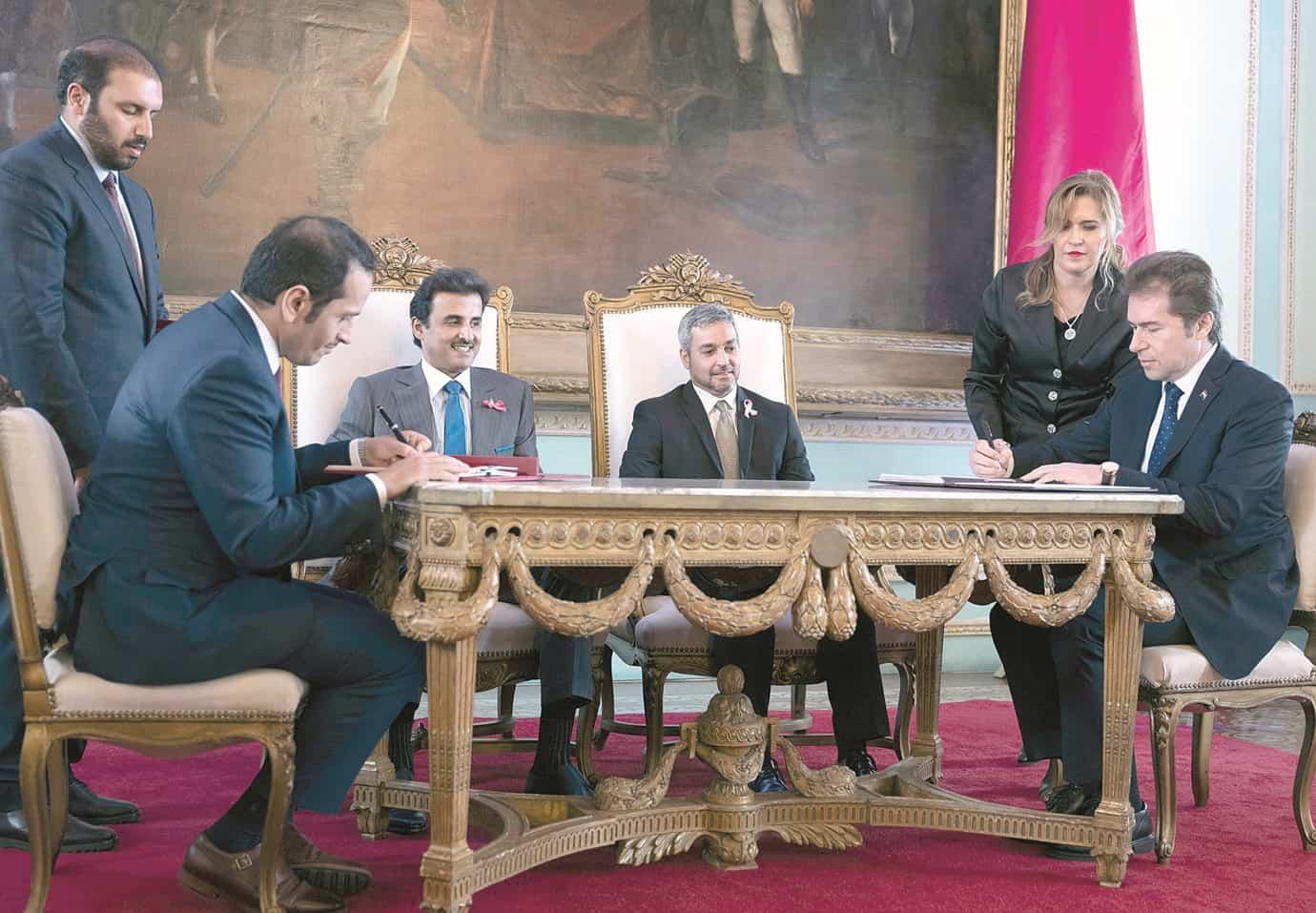 Qatar and Peru sign several agreements