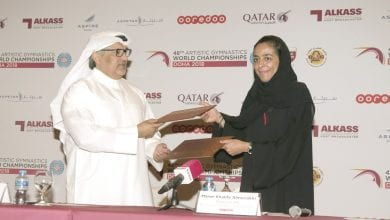 Ooredoo is partner of Artistic Gymnastics championship