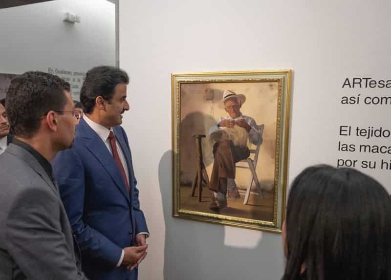 Amir arrives in Ecuador on two-day visit
