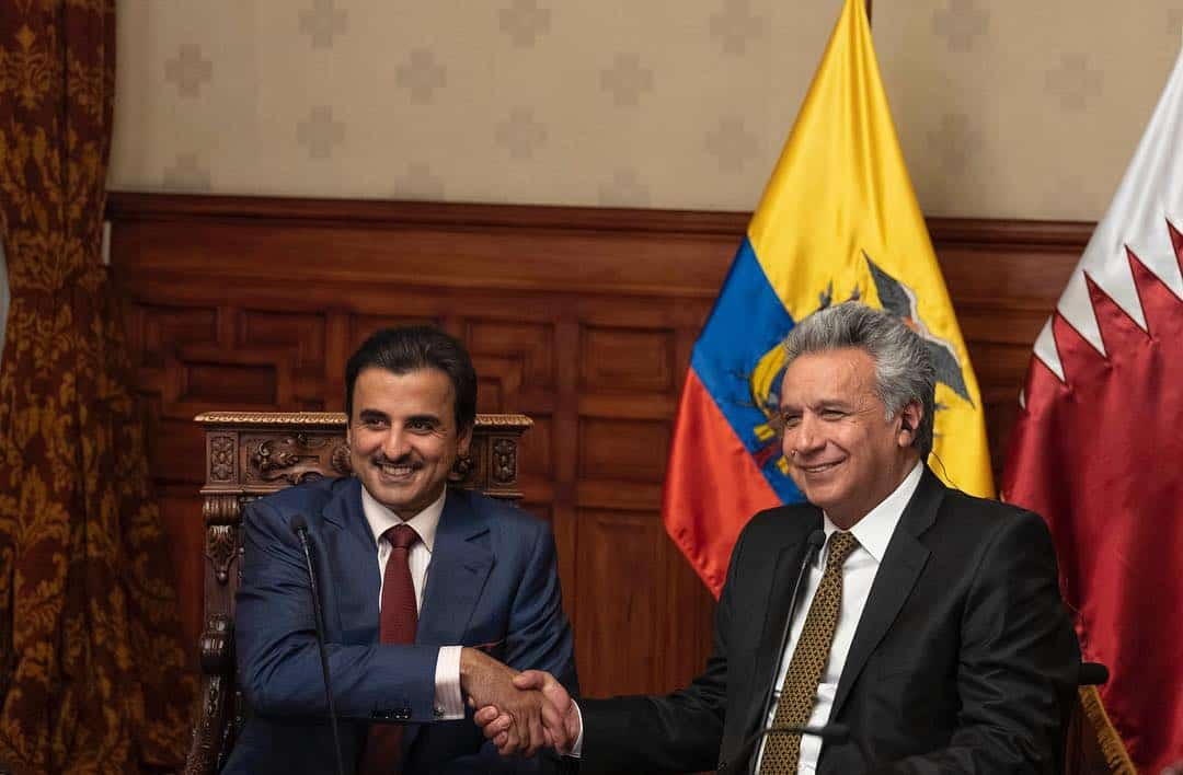Amir presented with Ecuadorian National Order of Merit