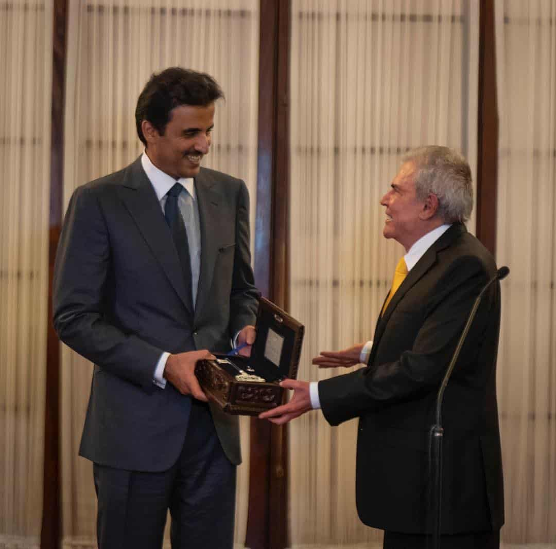 Amir receives Key of Lima City