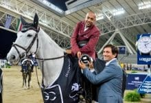 Sheikh Joaan crowned Hassan the winner's trophy of the five-star games
