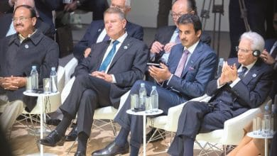 Amir attends Paris Peace Forum