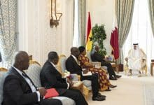 Amir, President of Ghana discuss ties and cooperation prospects