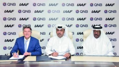 QNB and IAAF sign worldwide sponsorship agreement in Qatar
