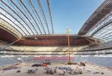 Seats installation starts in the Al Bayt Stadium