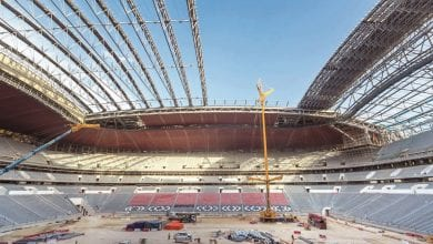 Seats installation starts in the Al Bayt Stadium
