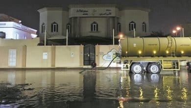 Rainfall Emergency Committee ensures smooth traffic flow